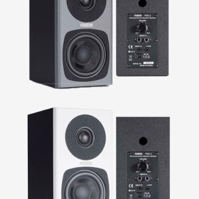 fostex PM0.3d actieve luidspreker tvstand